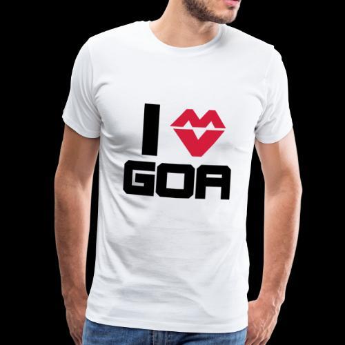 Goa Techno Festival Geschenk - Männer Premium T-Shirt
