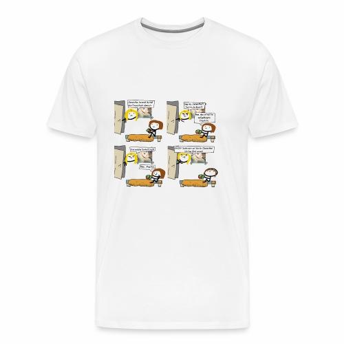 Zementha tut Obst essen - Männer Premium T-Shirt