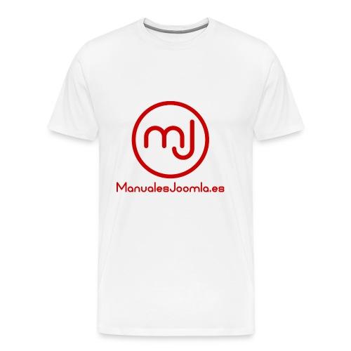 ManualesJoomla.es - Camiseta premium hombre