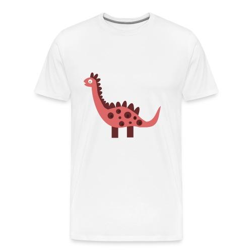 Dino pink - Men's Premium T-Shirt
