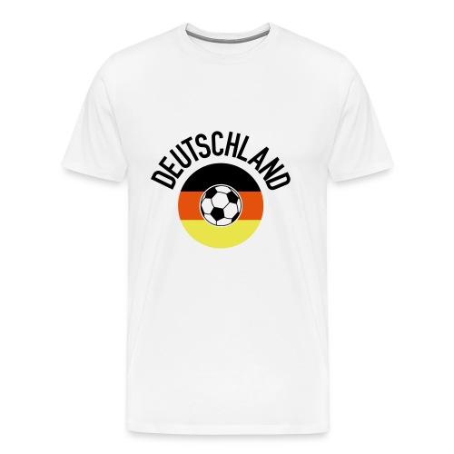 Deutschland01WM2018 - Männer Premium T-Shirt