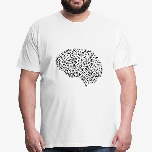 Finanzielle Intelligenz - Männer Premium T-Shirt