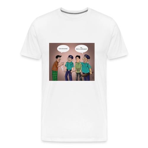 Cartoonist - Men's Premium T-Shirt