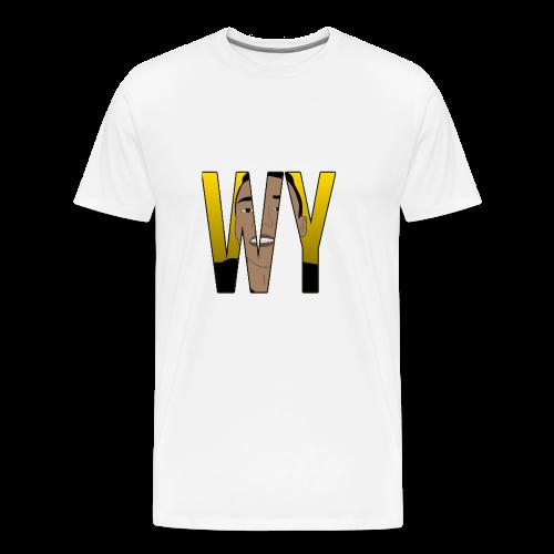 WaaromYannick Galaxy S6 Hoesje - WaaromYannick - Mannen Premium T-shirt