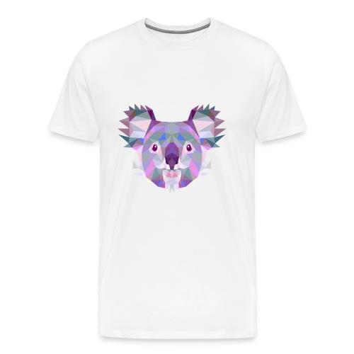 Triangle vector koala - Maglietta Premium da uomo