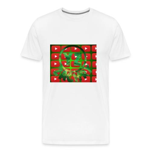 YZ-slippers - Mannen Premium T-shirt
