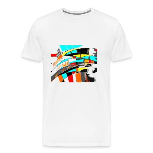 spacecity 18 W - T-shirt Premium Homme