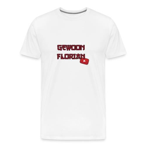 GewoonFlorian - Shirt - Mannen Premium T-shirt