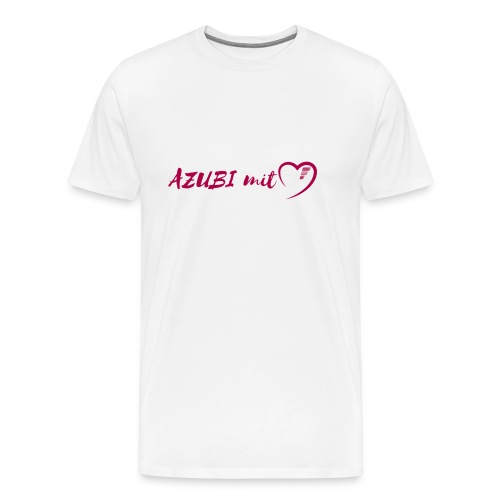 Azubi mit Herz - Männer Premium T-Shirt