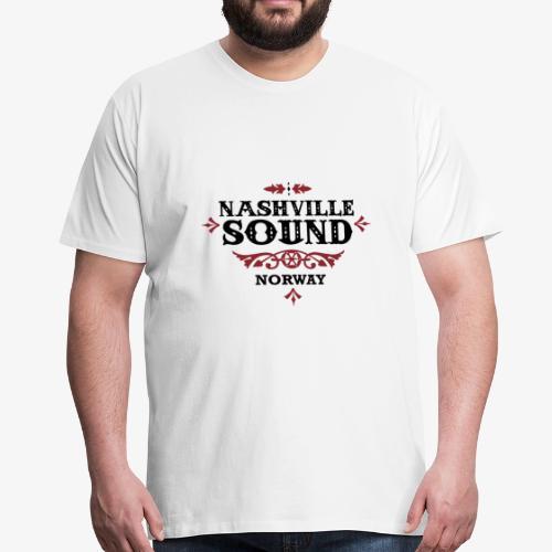 Bli med på konsert med Nashville Sound! - Premium T-skjorte for menn