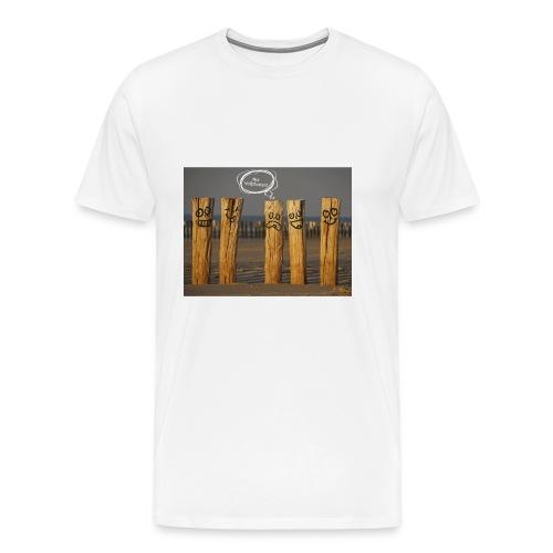 Vollpfosten - Männer Premium T-Shirt