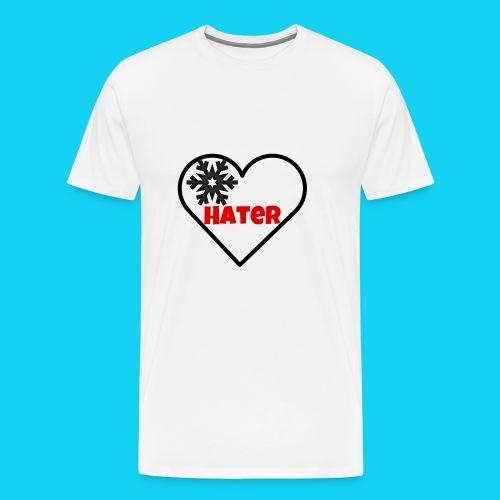 EinHerzfürHater - Männer Premium T-Shirt