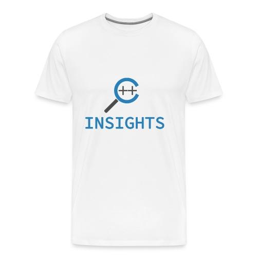 C++ Insights & Text - Männer Premium T-Shirt
