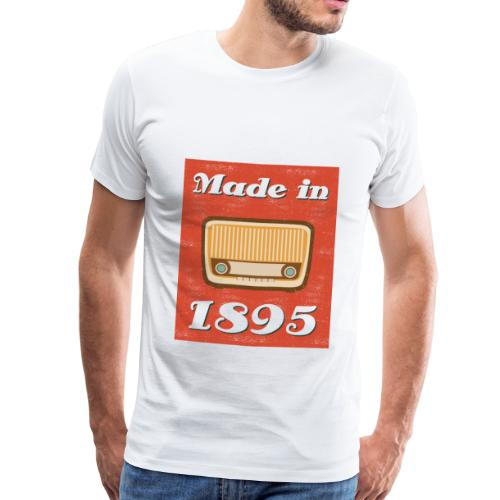 Retro Radio - Männer Premium T-Shirt