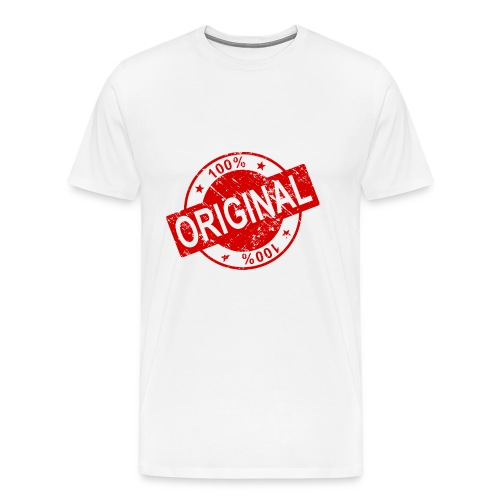 100 percent original - Men's Premium T-Shirt