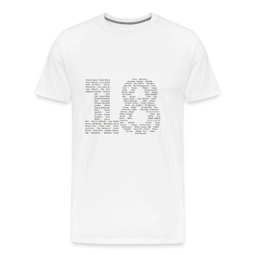 Abi18-Namen - Männer Premium T-Shirt