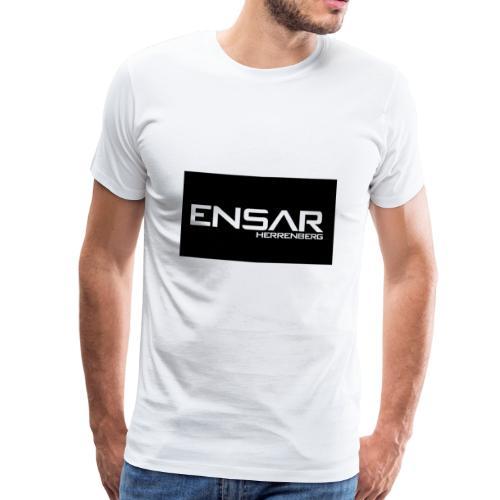 ensar schwarz - Männer Premium T-Shirt
