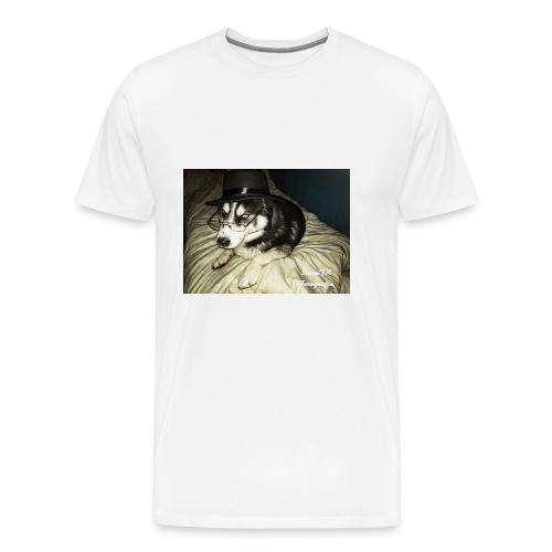 Husky möchte auch süßes oder saures - Männer Premium T-Shirt