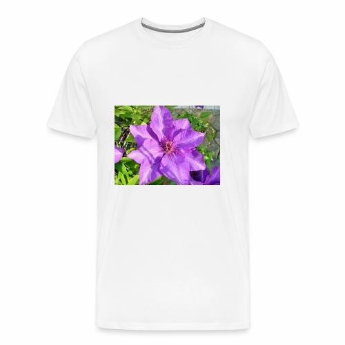 Die klematis - Männer Premium T-Shirt