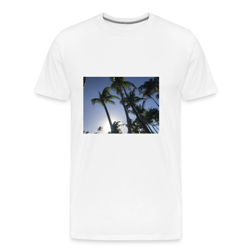 Karibik Palmen - Männer Premium T-Shirt