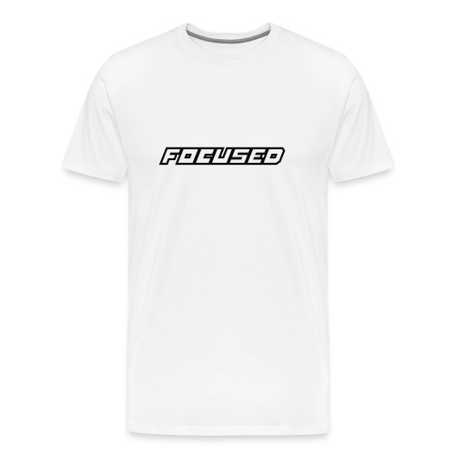 focused - Camiseta premium hombre