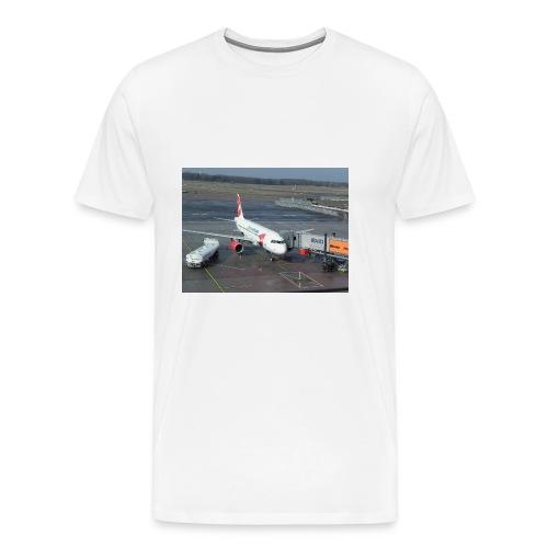 Czech Airlines A320 - Männer Premium T-Shirt