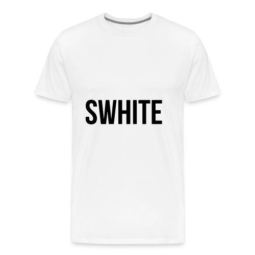 Swhite - Mannen Premium T-shirt