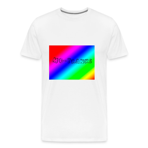 MO-Pranks rainbow - Premium T-skjorte for menn