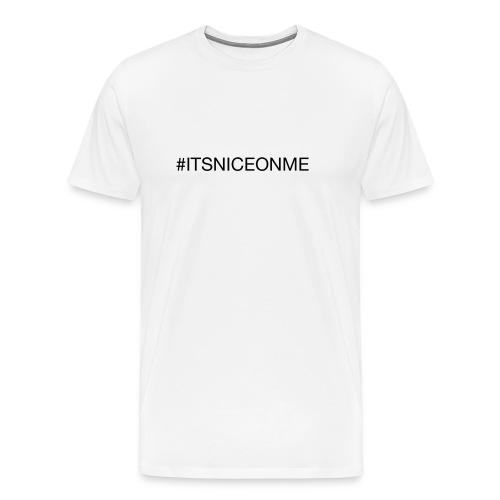 #itsniceonme Bavaglino - Maglietta Premium da uomo