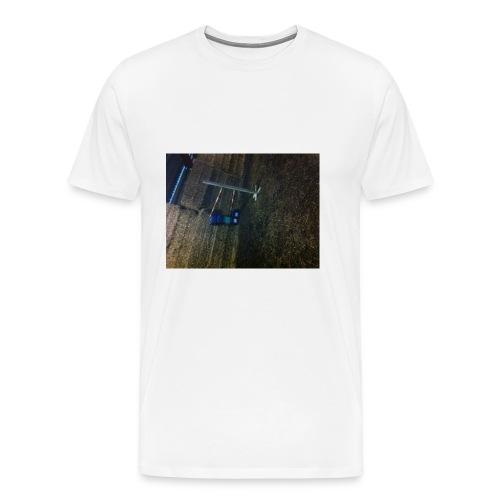 horse jumping - Herre premium T-shirt