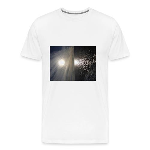 i phone 6/6s cover elastik med solnedgang - Herre premium T-shirt