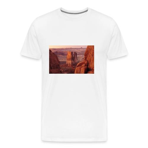 berg - Premium-T-shirt herr