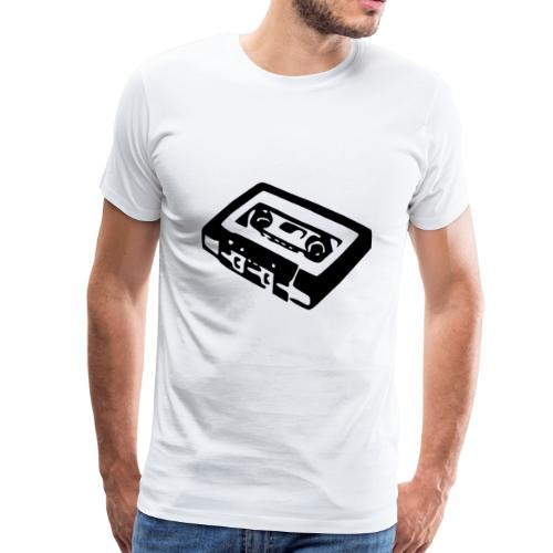 Retro-Kassette - Männer Premium T-Shirt