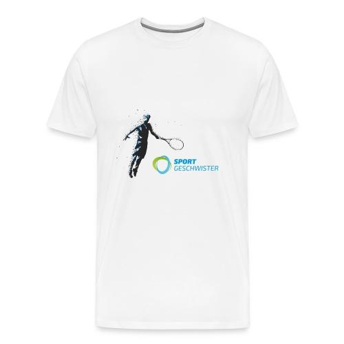 Flying SportGeschwister Player - Männer Premium T-Shirt