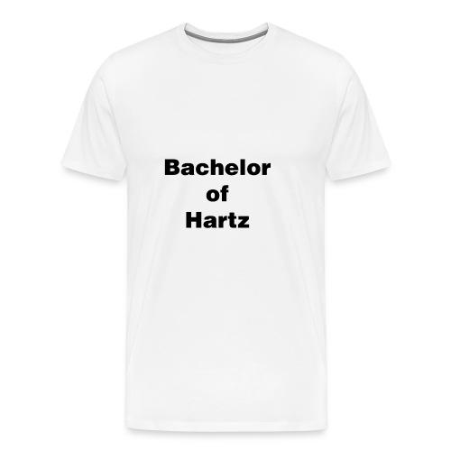 bachelor of hartz - Männer Premium T-Shirt