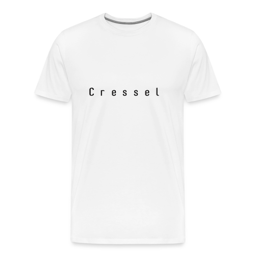 Cressel logo espacer noir - T-shirt Premium Homme