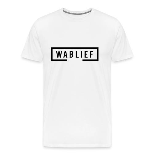 Wablief - Mannen Premium T-shirt