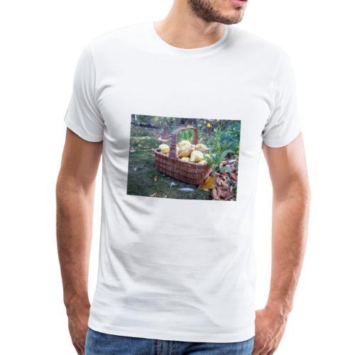 Quitten-Korb - Männer Premium T-Shirt