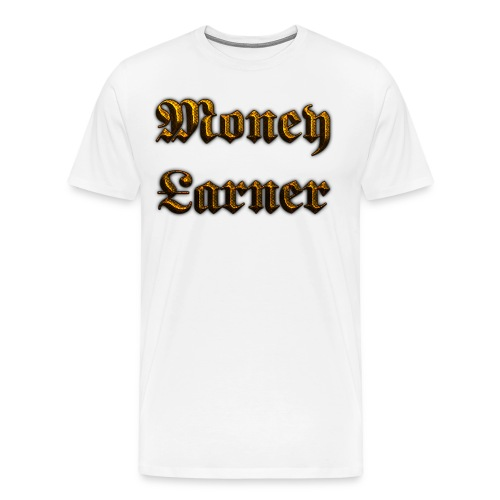 Cool Text Moneyarner 235668087714412 - Men's Premium T-Shirt