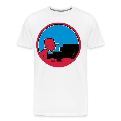 Raw Material Character Studio - Men's Premium T-Shirt