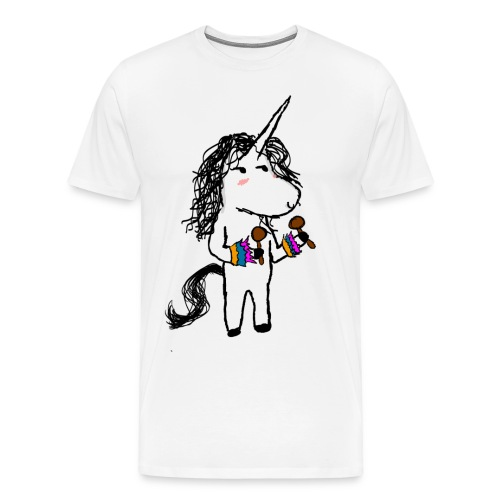 Unicorn Dancer - Men's Premium T-Shirt