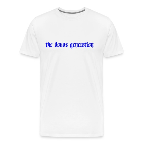 the dovas generation - Premium-T-shirt herr