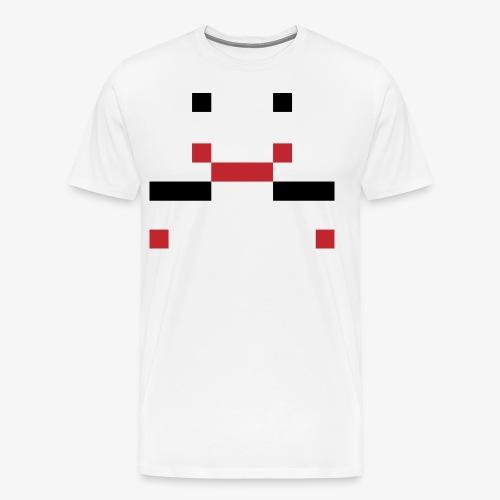 Getbranded: Jason VoorHees Minecraft - Mannen Premium T-shirt