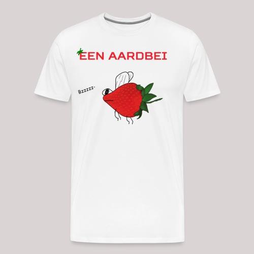 Een aardbei - Mannen Premium T-shirt