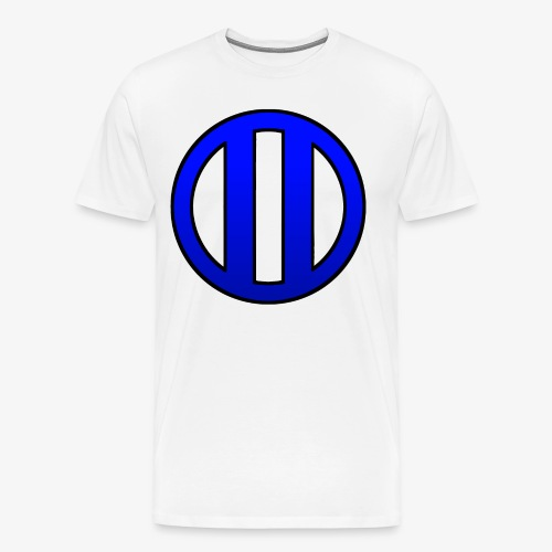 lycoslogoblue - Camiseta premium hombre