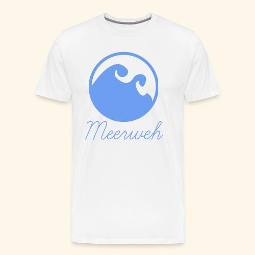 Meerweh - Fernweh - Urlaubsreif - Männer Premium T-Shirt