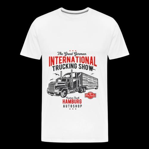 Hamburg Trucking Show - Männer Premium T-Shirt