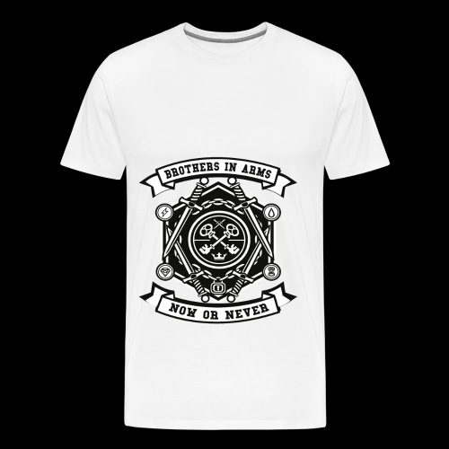 Brothers In Arms - Now or Never - Männer Premium T-Shirt