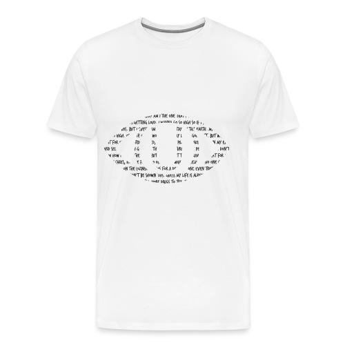 LIRISMO BLACK - Men's Premium T-Shirt