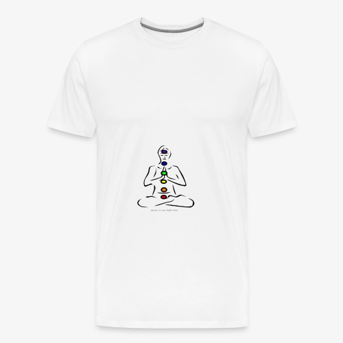 Chakra - Männer Premium T-Shirt